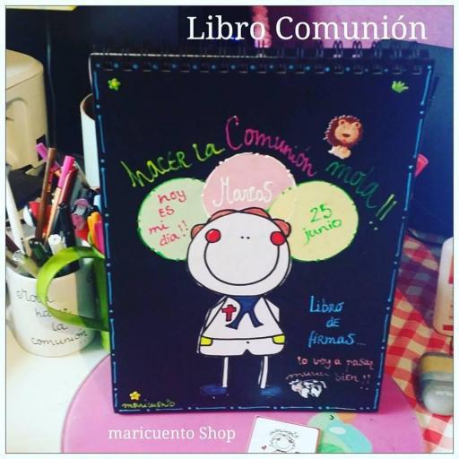 Libro de Comunión. Talla L. [1]