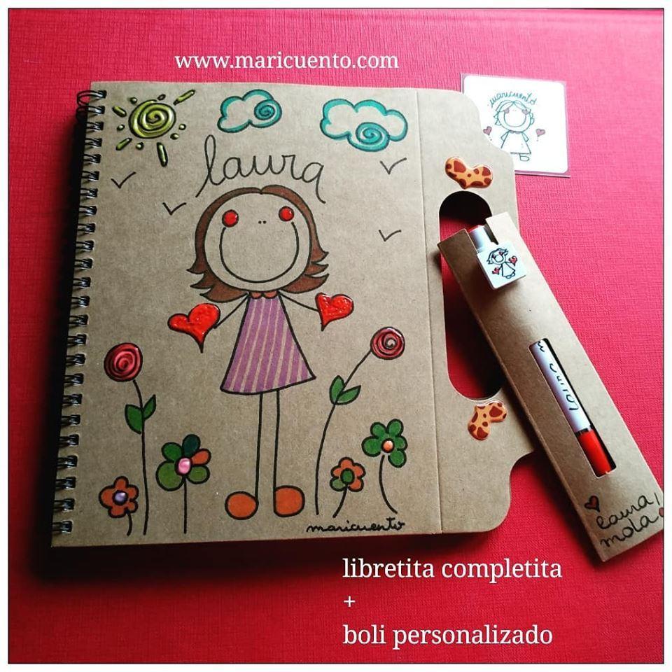 Pack libreta+boli