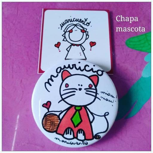 Chapa Mascota