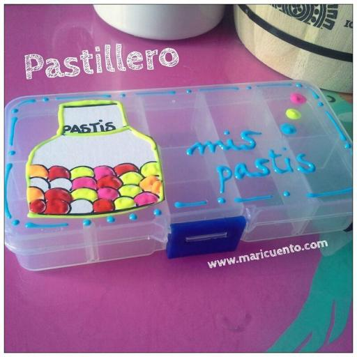 """Pastillero """"Miss pastis"""" [2]"""