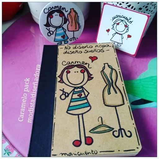 """Caramelo pack """"Libretina+chapa"""" [3]"""