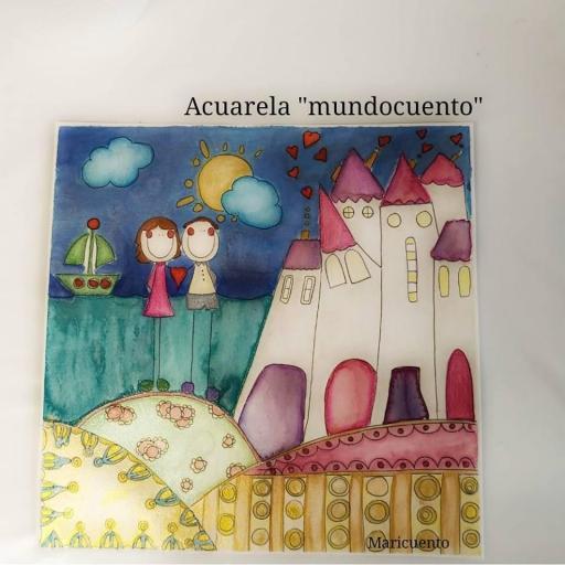 "Lámina  A3 ""MundoCuento"" [0]"
