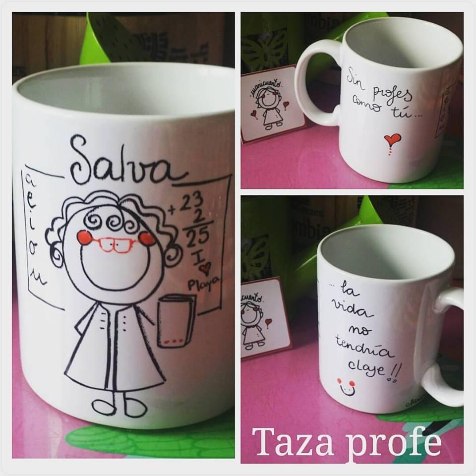 Taza profesor