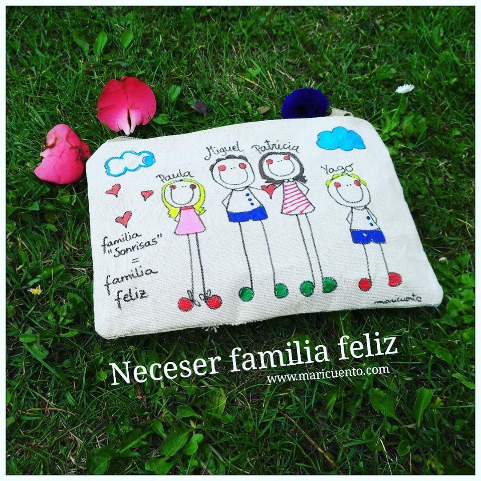 Neceser Familia Feliz. Talla M.