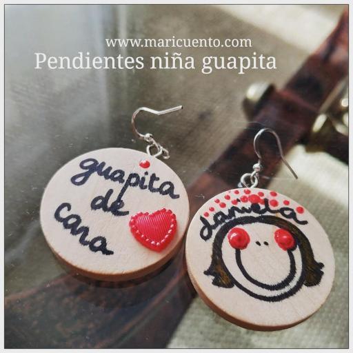Pendientes Niña Guapita