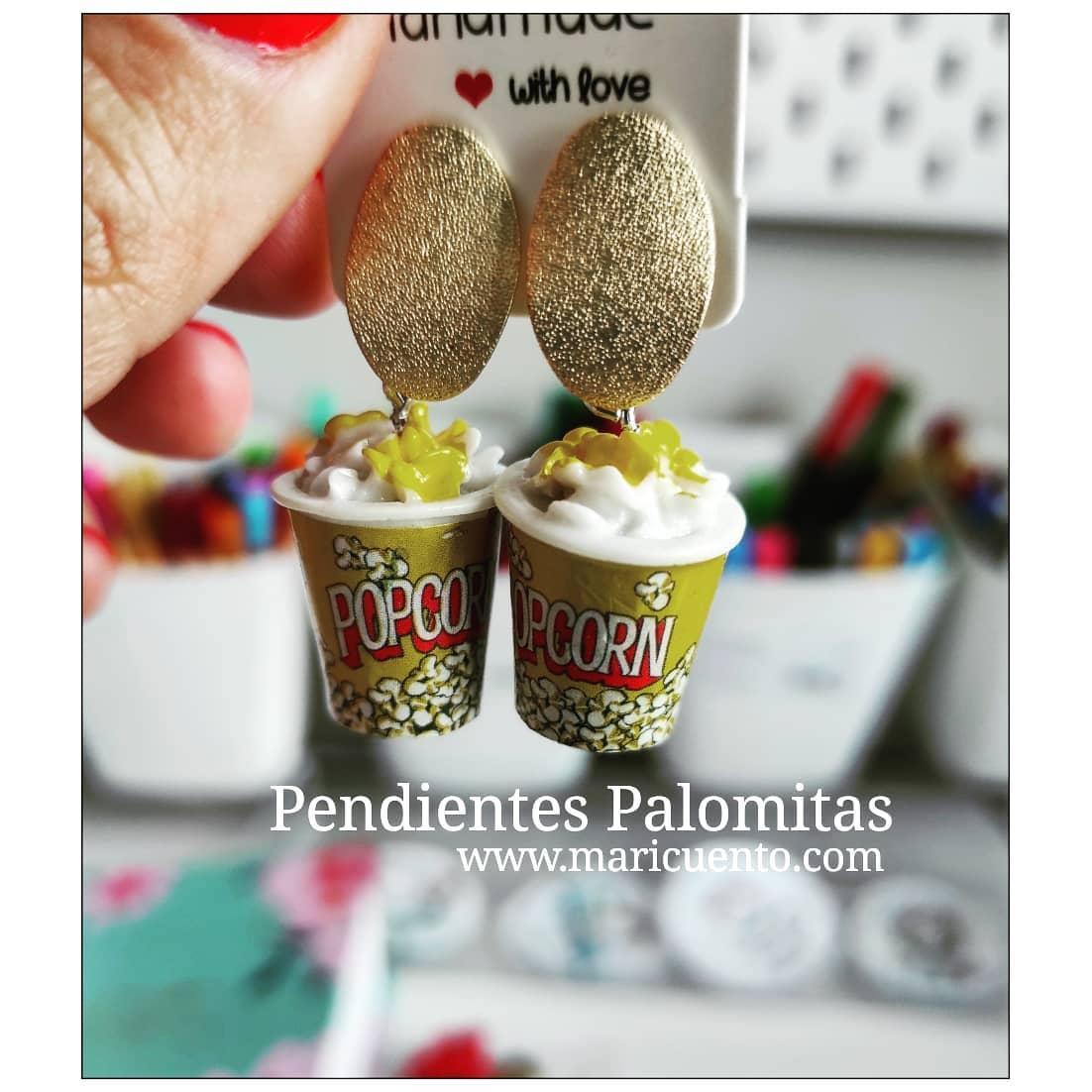 Pendientes Palomitas