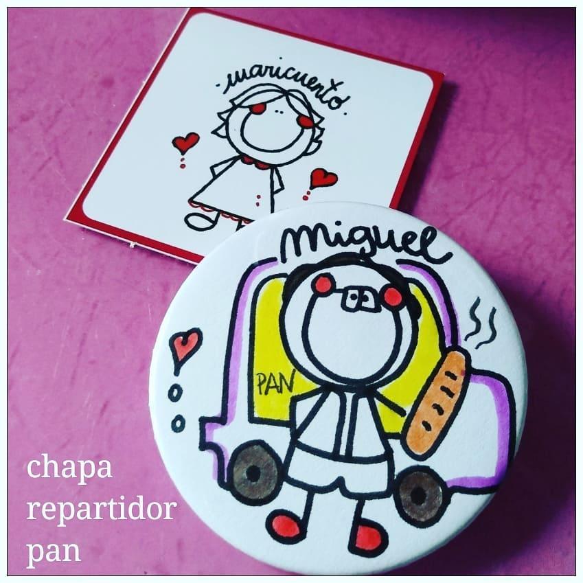 Chapa Repartidor Pan