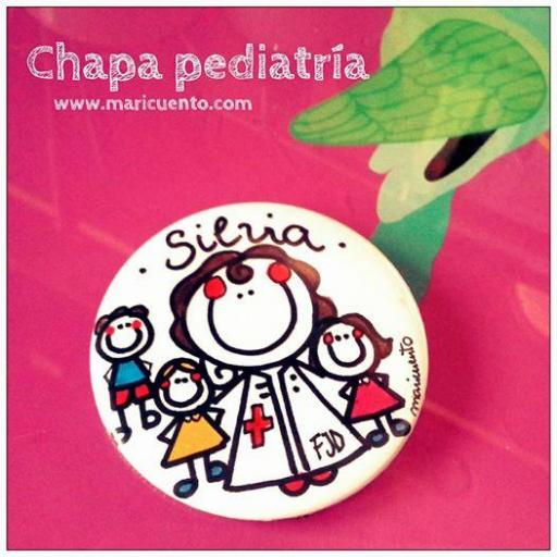 Chapa enfermera pediátrica [1]