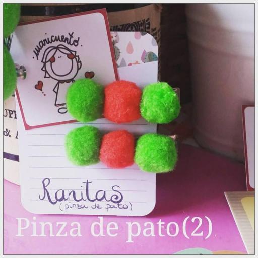 Ranitas Pinza de Pato [0]