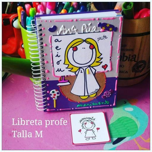 Libreta profesora. Talla M [2]