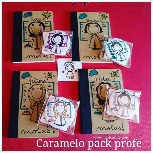 Caramelo pack Profe