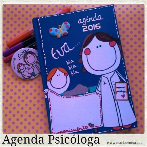 Agenda Psicóloga. Talla L [2]