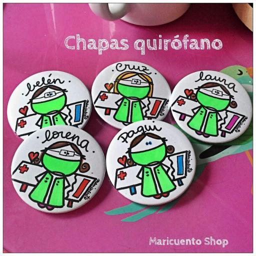 Chapa Quirófano