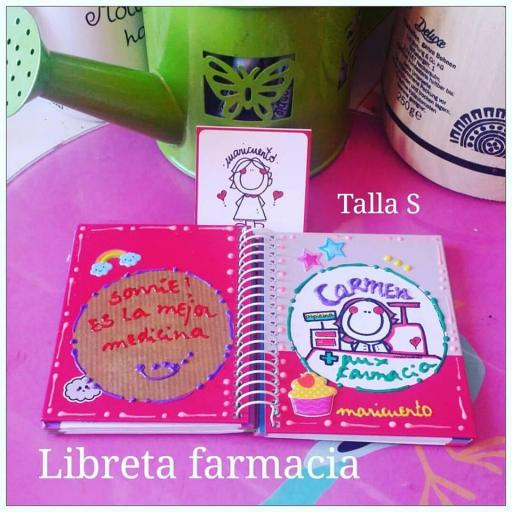 Libreta Farmacia.Talla S [1]