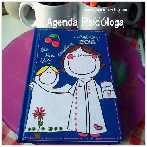 Agenda Psicóloga. Talla L [1]