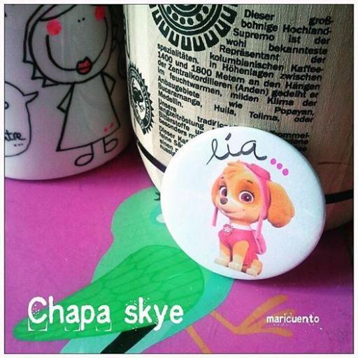 Chapa Skye (patrulla canina)