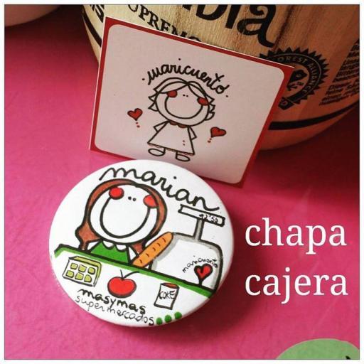 Chapa Cajera Masymas