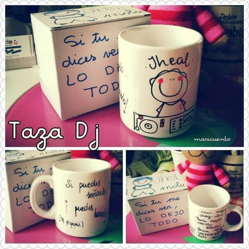 """Taza """"Dj"""""""