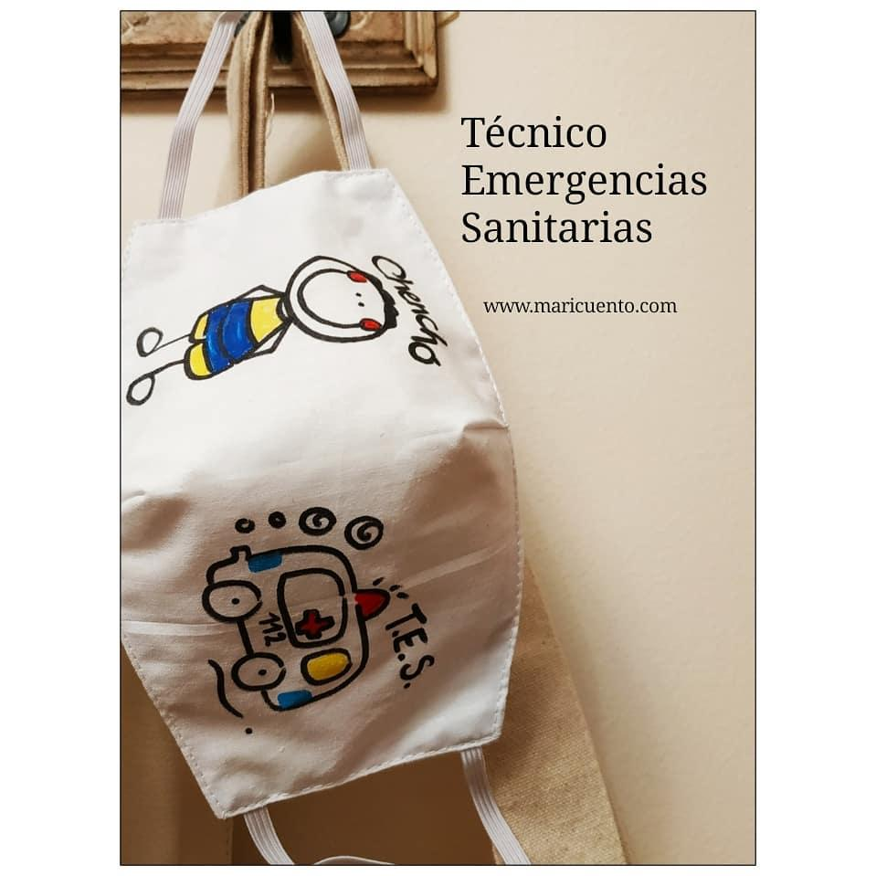 Mascarilla Tecnico Emergencias Sanitarias