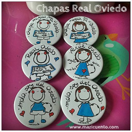 """Chapa """"Molo, soy del Oviedo"""" [1]"""