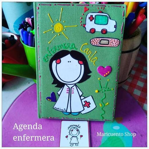Agenda Enfermera Talla L [3]
