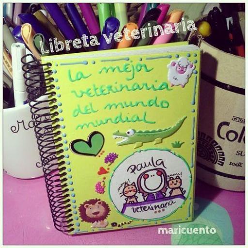 Libreta Veterinaria. Talla M. [1]