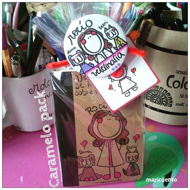 "Caramelo pack ""Libretina+espejo"""