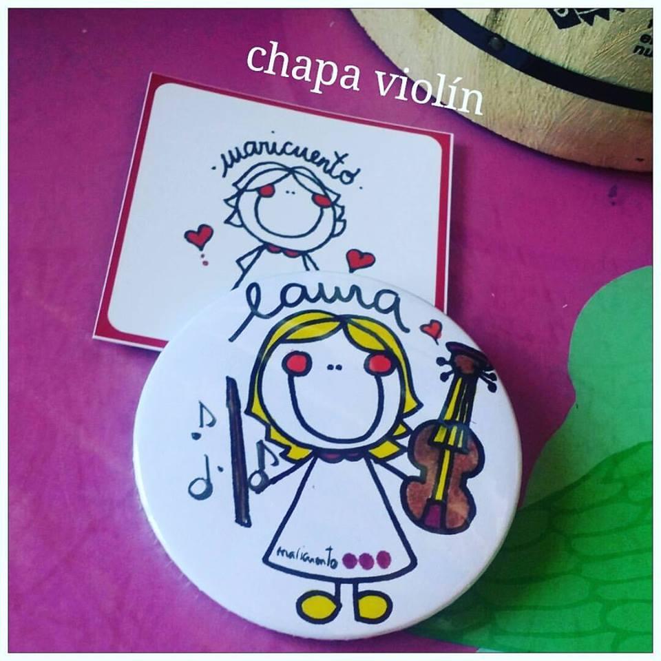 Chapa violinista