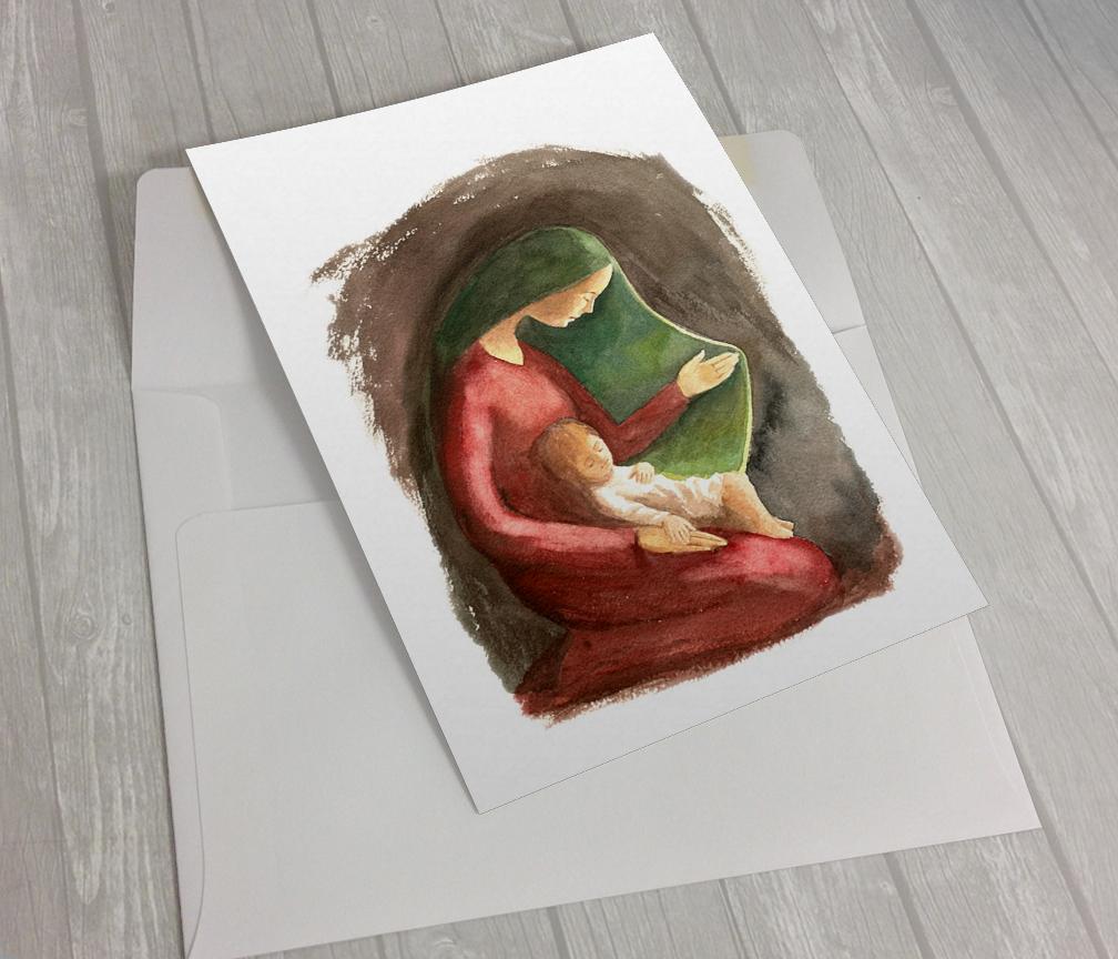 """Felicitación de Navidad: """"Cordero parvulillo"""""""