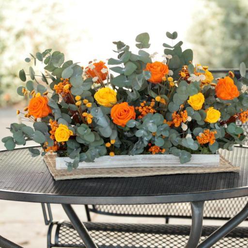 Barák de rosas naranjas [1]