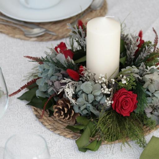 Barák de Navidad de rosas