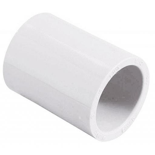 "ACOPLE PVC CÉDULA 47mm 3/4"""