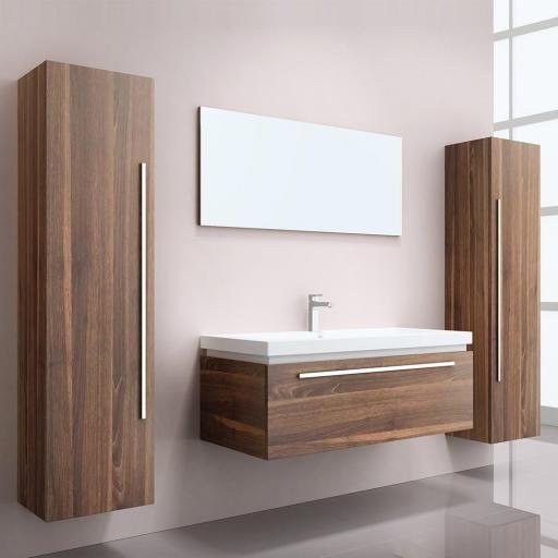 Muebles de baño Baltrum - madera (HB)