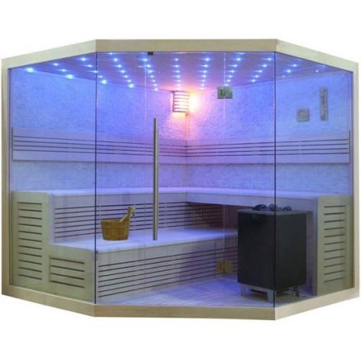 Sauna B1101C álamo 180x180