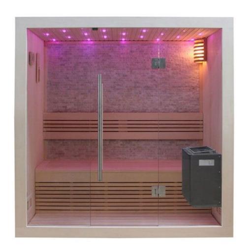 Sauna B1103C álamo 120x105