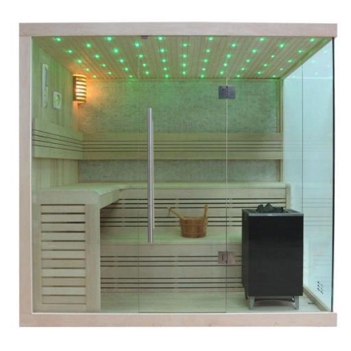 Sauna B1105C álamo 180x180