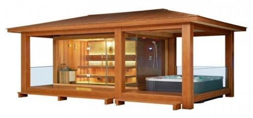 Sauna LT07 cedro rojo