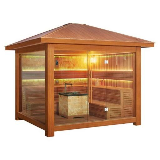 Sauna LT1416B cedro rojo