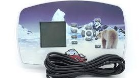 Arctic Spa IN.K661-LG Topside Control Panel