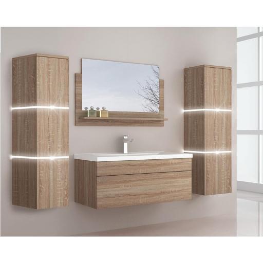 Muebles de baño Wangerooge BIG XL - madera (HB)