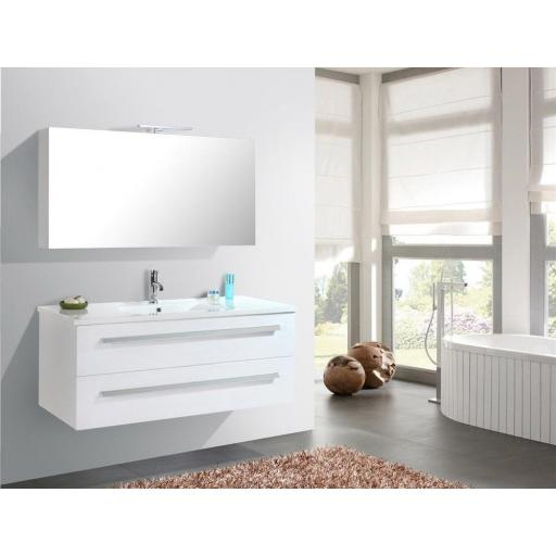 Muebles de baño Wilhelmshaven - Blanco (BE)