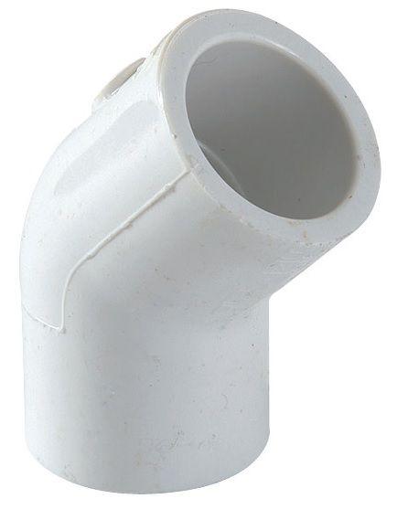 CODO PVC 45º 3/4 19mm