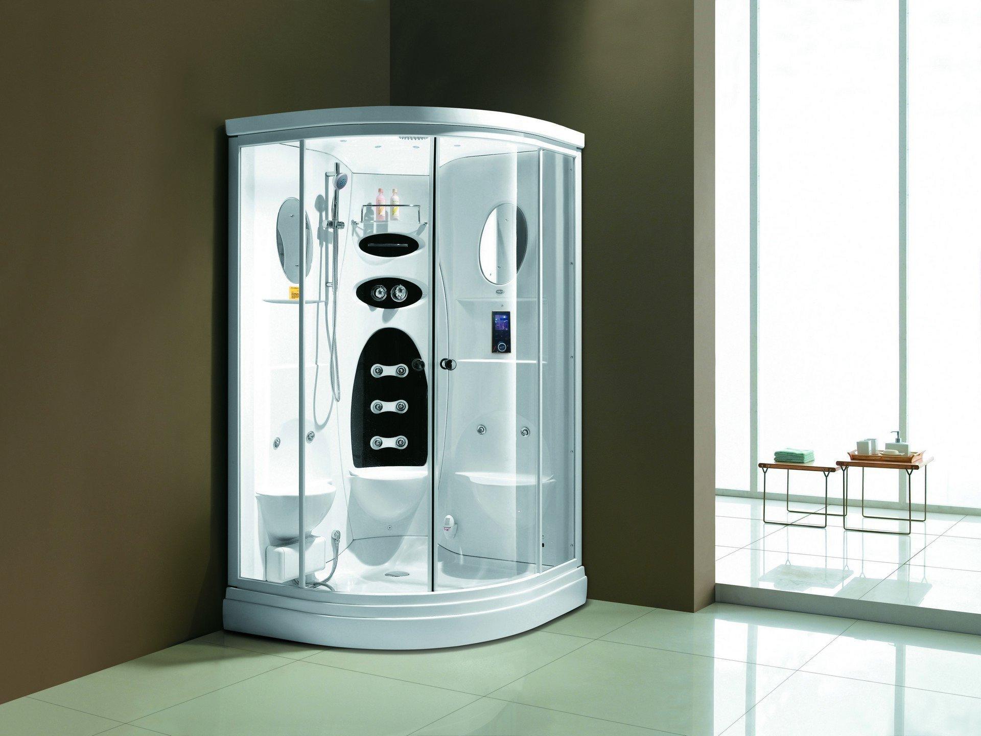 Cabina ducha Vapor Niagara Lado Izquierdo