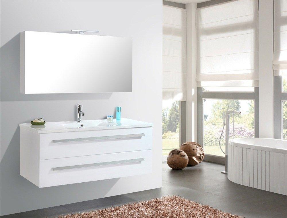 Mueble de baño Wilhelmshaven - Blanco (BE)