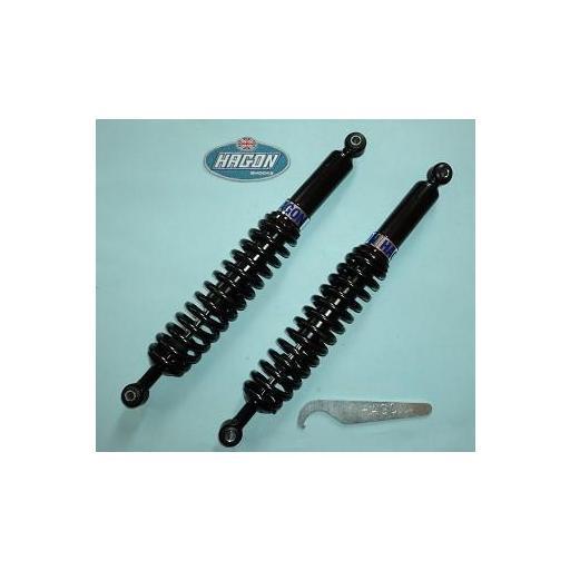 Longitud 420mm para: R45, R 50/5, R 60/5/6/7, R 75/5/6/7, R 80/7, R 80 RT, R 90/S, R 90/6, R 100/7/S/T, R 100 CS/RS/RT, amortiguadores BMW caferacer