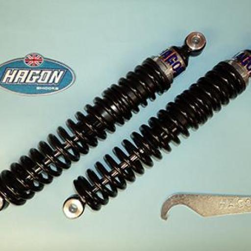 Hechos a medida para: R 50/5, R 60/5/6/7, R 75/5/6/7, R 80/7, R 80 RT, R 90/S, R 90/6, R 100/7/S/T, R 100 CS/RS/RT amortiguadores BMW
