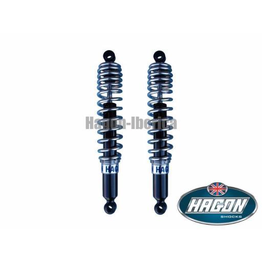 500 Sport y Desmo, amortiguadores de gas Hagon para Ducati