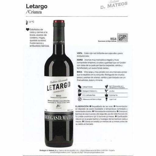 LETARGO CRIANZA [1]
