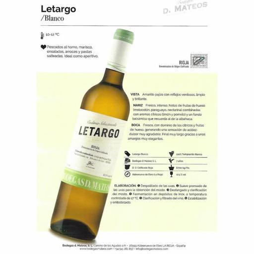 LETARGO TEMPRANILLO BLANCO [1]