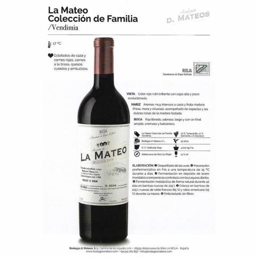COLECCION DE LA FAMILIA D. MATEOS VENDIMIA [1]